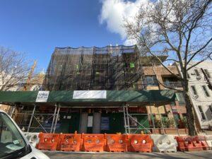 eagle facade progress